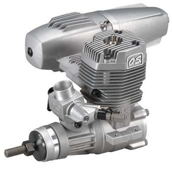 Motor O.S. 55AX (metanol) - AERODESIGN - MOTOR OFICIAL  - King Models