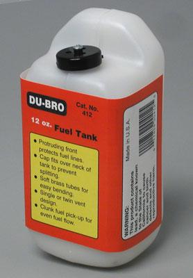 Tanque de Combustível Du-Bro Quadrado - 12oz - 360ml  - King Models