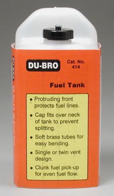 Tanque de Combustível Du-Bro Quadrado - 14oz - 420ml  - King Models