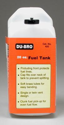 Tanque de Combustível Du-Bro Quadrado - 20oz - 600ml  - King Models