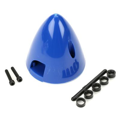"""Spinner Dubro 3"""" - 76mm - Azul em Nylon DUB295  - King Models"""