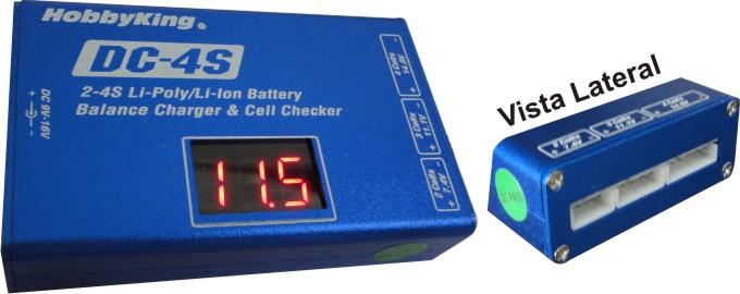Carregador/Balanceador/Monitor Para Lipo De 2 A 4s - Dc4s  - King Models