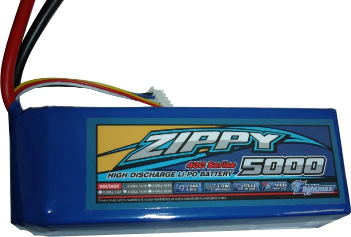 Lipo Zippy/Flightmax -  3s 11,1v-40/50 - 5000mah  - King Models