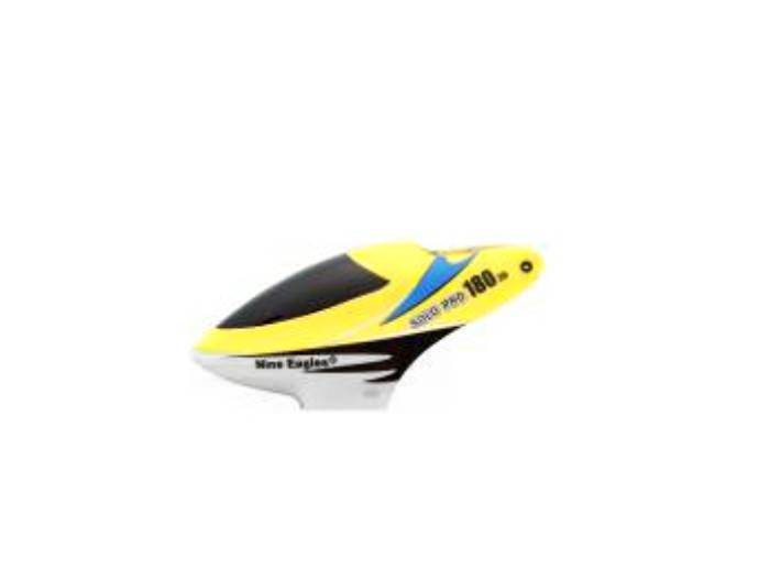 Nine Eagle - Solo Pro 180 3d - Canopy - Yellow  - King Models