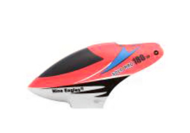 Nine Eagle - Solo Pro 180 3d - Canopy - Red  - King Models