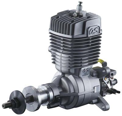 Motor O.S. GT-33 GASOLINA (33 cc) - Com ignição eletrônica  - King Models