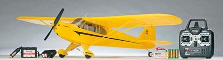 Piper Super CUB elétrico Flyzone 1220mm RTF - PRONTO PARA VOAR!!  - King Models