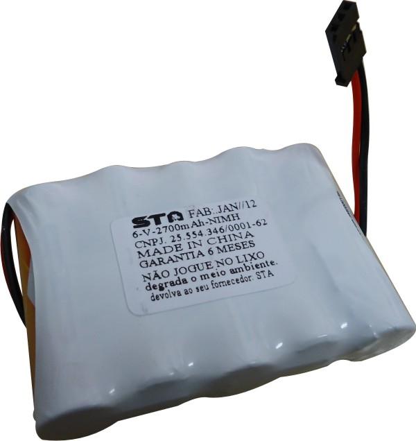Pack Bateria Nimh 6,0v - 2700mah Aeros - Combustão  - King Models