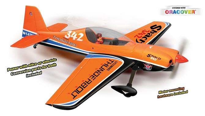 Aeromodelo A Combustão ou Elétrico - Kit Arf - Sbach - Phoenix Models  - King Models