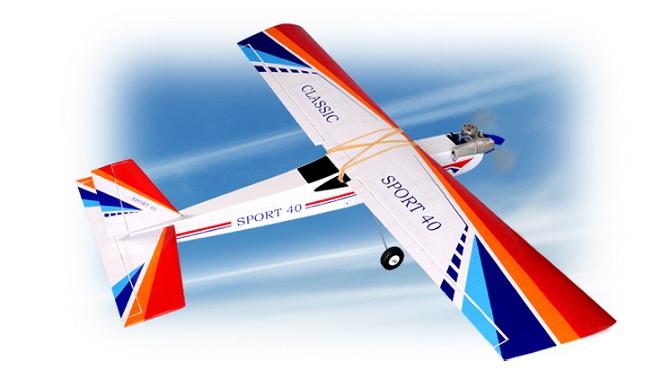 Aeromodelo A Combustão - Kit Arf - Classic - Asa Alta - Phoenix Models  - King Models