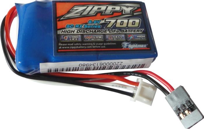 Bateria Life 2s - 6.6v - 700mah Para Tx Ou Rx  - King Models