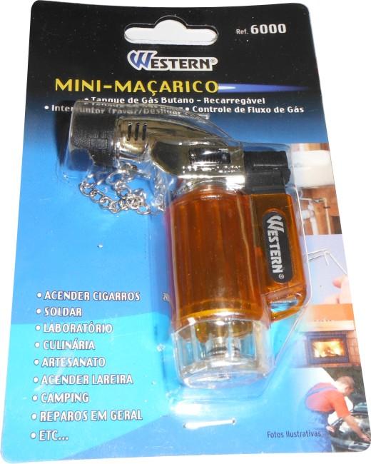 Mini-Maçarico a gás-Recarregável com regulador de chama+brinde!!  - King Models