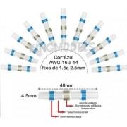 10pçs Tubo Retrátil C/ Anel Estanho - Emenda Fio 1.5 A 2.5mm   Estoque não configurado Produto não relacionado