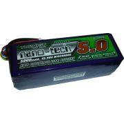 LiPo Turnigy Nano-Tech - 6s 22,2v-45/90 - 5000mah-Aero/Heli