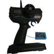 Rádio Hobby King 2.4g Pistola Hk310 - 3canais - Auto - Nauti