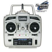 Rádio Futaba 4 canais 2.4ghz FHSS - T4YF - Homologado pela Anatel