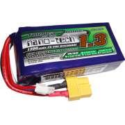 Lipo Turnigy Nano Tech 3s 11,1v -25/50 - 1300Mah