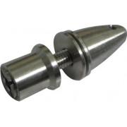 Spinner Alumínio P/ Motor Brushless C/ Eixo 3mm Mod. Mandril