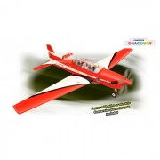 Aeromodelo Elétrico/Combustão - Kit Arf - Tucano- Asa Alta - Phoenix Models