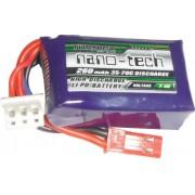 Lipo Nano Tech 2s-7,4v-260mah - 35/70c