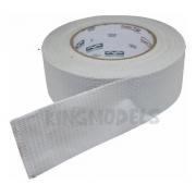 1rl Fita Adesiva Tecido Estilo Silver Tape 48mmx50mts Branc