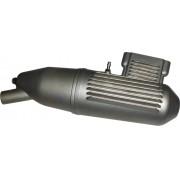 Mufla(escapamento) Para Motor Glow Asp-61-2 Tempos