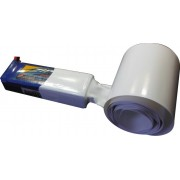 Tubo Termo-retrátil Pvc 66mm(chato)-diametro42.6mm -branco