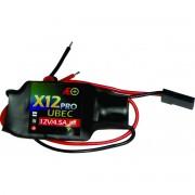 Bec Reg.de Voltagem Input:7.2 A 21v-output-12v-drone Com Led