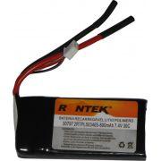 Bateria Lipo Rontek-2s 7,4v-30/40c - 800mah-aero/heli