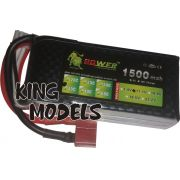 Bateria Lipo Power-3s 11,1v-30c-1500mah-alta Descarga!!!