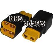Plug Adaptador Xt60 Paralelo-produção Própria/solda+segura