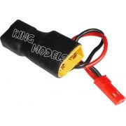 Plug Adaptador XT60 Macho para Dean Fêmea com Saída Auxiliar JST para FPV