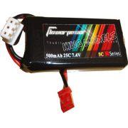 Bateria Lipo Flower Power-2s 7.4v-25c-500mah