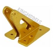2pçs Horn Alumínio P/ Aero Larga Escala - Amarelo 41x29mm