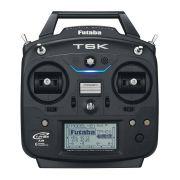 Rádio Futaba 6k - 6canais - S.bus/telemetria-aero/heli/drone