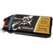 Lipo Force Power 3s 11.1v 1300mah 25/30c - Aeros/mini Drones