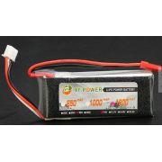 Bateria Lipo Xf 2s 7.4v 1200mah 30/35c
