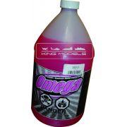 Combustível Omega-15%nitro-17%óleo-aeros-4t-frasco 1.litro