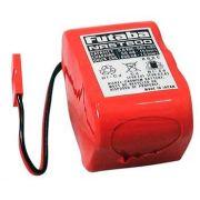 Pack Bateria Futaba Nicd 6v - 600mah Ignição Aeros Gasolina