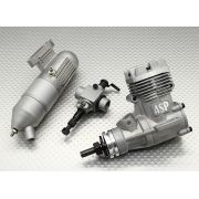 Motor Glow - Asp 32a - 2 Tempos - Carburador frontal