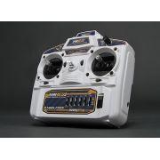 Rádio Hk 6 Canais 2.4ghz - Fhss - Branco - Com Função Mix!!!