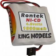 Pack Bateria Nicd 4,8v - 1000mah Rontek - Aeros Combustão