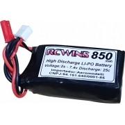 Lipo Rcwins 2s 7.4v- 25c -850mah