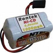 Pack Bateria Nicd 4,8v - 1000mah Rontek - Modelo Torre
