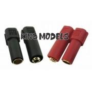 Conector Xt150 - 6mm - 2xpares(macho E Femea) - 2xcores