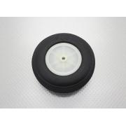 Roda De Borracha Extra-leve E Cubo Nylon - 101mm - Unidade