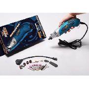 Micro Retífica - Hk - 110v - 160w +33 Acessórios E Lanterna