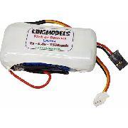 Bateria Life Rontek 2s - 6.4v - 1500mah - 8c - Cilíndrica