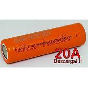 Bateria Li-ion 18650 - Rontek - 2000mah - 20a Descarga!!!!