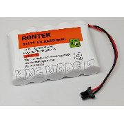 Pack Bateria Nicd 6v - 600mah Rontek -telefonia-modelismo